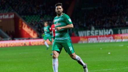 Claudio Pizarro reiteró su deseo de seguir en Alemania