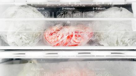 Cómo congelar los alimentos para evitar la proliferación de bacterias