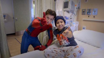 YouTube | Tom Holland visitó un Hospital disfrazado de 'Spiderman'