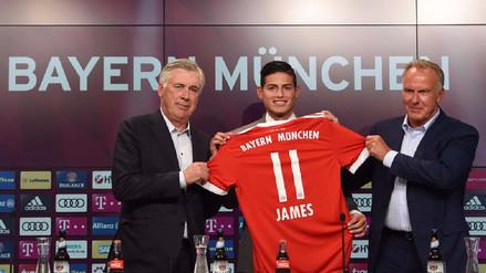 Esto dijo James Rodríguez tras ser presentado en el Bayern Munich