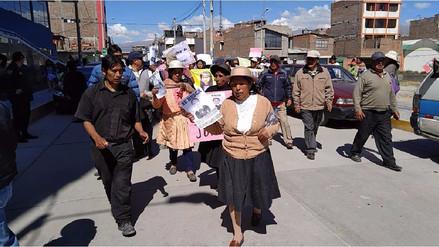 Huancayo: marchan por niña desaparecida hace seis días