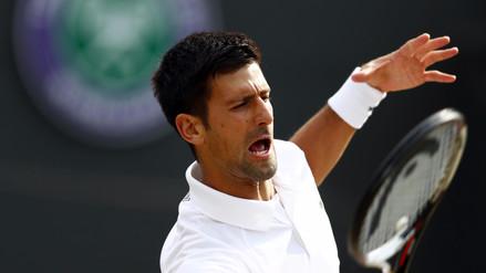 Novak Djokovic abandonó el partido de Wimbledon contra Berdych por lesión