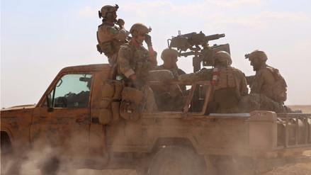 Militares estadounidenses operan en el bastión de ISIS en Siria