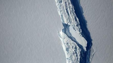 Uno de los icebergs más grandes del mundo se desprendió de la Antártida