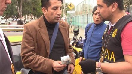 Gran Chimú: capturan a empleado de UGEL tras cobrar coima de 500 soles