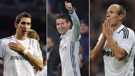 No brillaron en el Real Madrid y tuvieron su revancha en otro club