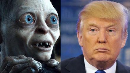 YouTube   Los tuits de Trump fueron leídos por Andy Serkis con la voz de Gollum