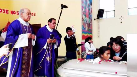 Huancayo: entierro de menor se convirtió en protesta contra asesino