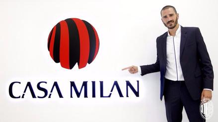 Leonardo Bonucci es nuevo jugador del AC Milan