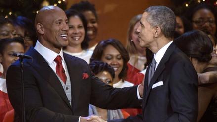Inicia la campaña presidencial de 'La Roca' en Estados Unidos