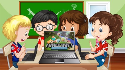 ¿Minecraft puede ser parte del currículo escolar?