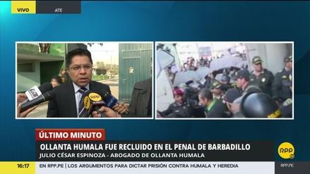 """Abogado de Humala: """"Mi cliente no va a tener contacto con Alberto Fujimori"""""""