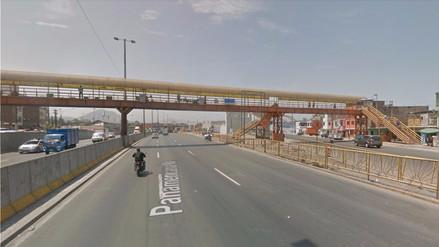 Cerrarán Vía de Evitamiento por desmontaje de un puente peatonal