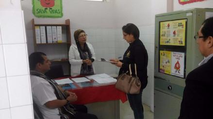 Nuevo Chimbote: Fiscalía inspecciona hospital Eleazar Guzmán Barrón