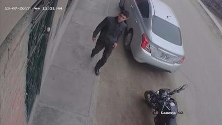 Trabajador denuncia el robo de su motocicleta en Carabayllo