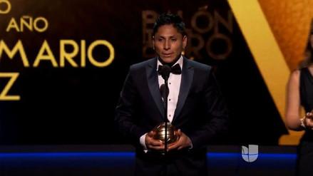 Raúl Ruidíaz ganó el Balón de Oro como 'Mejor Delantero' en México