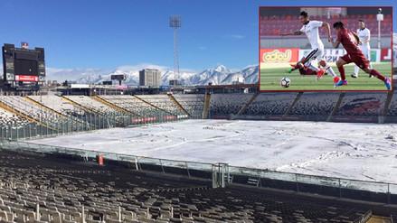 El Colo Colo de Christofer Gonzales no jugó porque su estadio lucía así