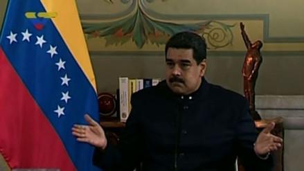 """Nicolás Maduro quiere hablar """"face to face"""" con Trump"""