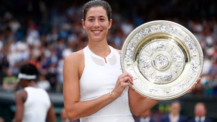 Garbiñe Muguruza venció a Venus Williams y hace historia en Wimbledon