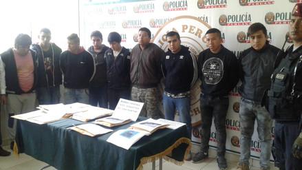 Huaral: desarticulan tres bandas criminales que extorsionaban a comerciantes
