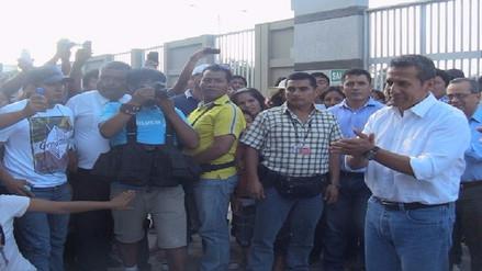 Partido Nacionalista de Lambayeque califica de injusta detención de Ollanta Humala
