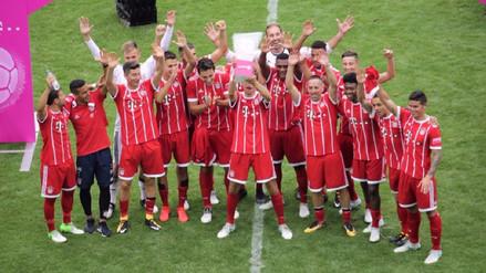 James Rodríguez debutó con el Bayern Munich y ganó la Copa Telekom