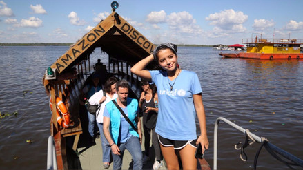 Fotos | Isabela Moner recorrió Loreto junto a Marco Zunino