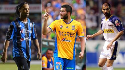 Las figuras mundiales que llegaron al fútbol mexicano