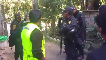 Policía niega enfrentamientos o desaparición de docentes en Cusco