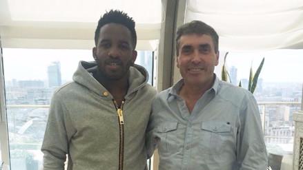 Jefferson Farfán se reunió con Néstor Bonillo y Nolberto Solano en Rusia