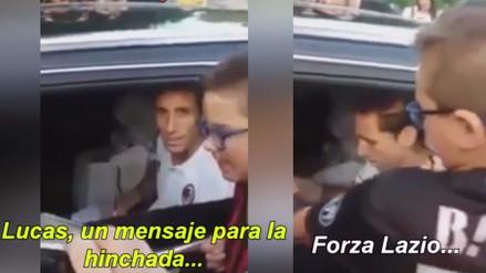 """Lucas Biglia y su mensaje a los hinchas del AC Milan: """"Forza Lazio"""""""