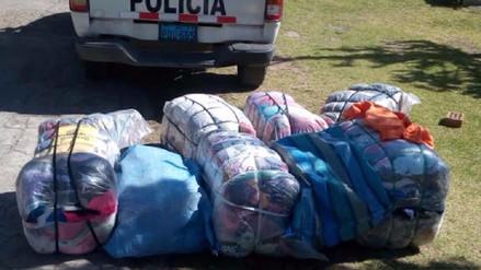 Incautan ropa de contrabando valorizada en más de once mil soles
