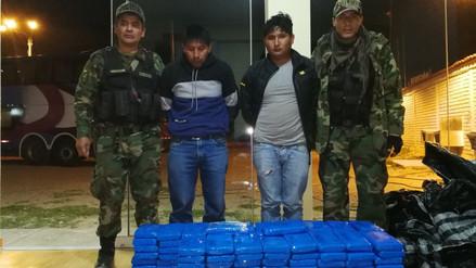 Policía Antidrogas decomisó más de 200 kilos de droga