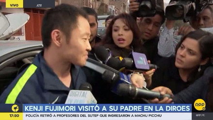 Kenji Fujimori y Ollanta Humala almorzaron juntos este lunes en la Diroes
