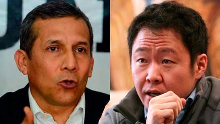 Kenji Fujimori se reunió con Ollanta Humala en la Diroes