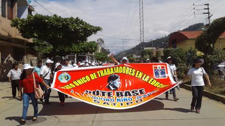 Maestros de zonas rurales de Satipo no acatan huelga del Sutep