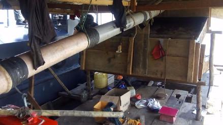 Iquitos: en operativo se destruyó dragas usadas para minería ilegal