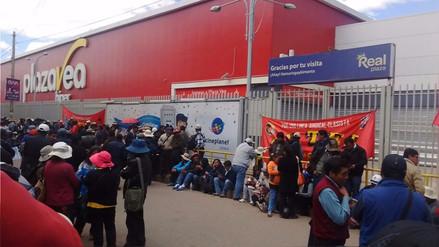 Juliaca: huelguistas impidieron atención en entidades públicas y privadas