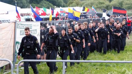 Escándalo en Alemania tras el mayor concierto neonazi de los últimos años