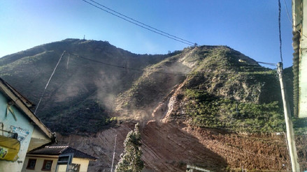 Consejo regional de Huancavelica declara emergencia por deslizamientos