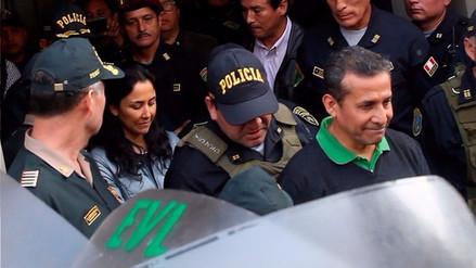 El juez Richard Concepción declaró admisible la apelación de Humala y Heredia