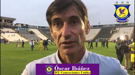 Oscar Ibáñez anunció su retiro de Comerciantes Unidos