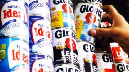 Gobierno observó ley que prohíbe uso de leche en polvo para preparar leche evaporada