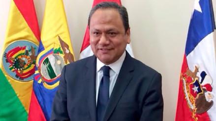 Exministro Mariano González es el nuevo vicepresidente del Parlamento Andino