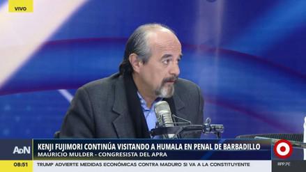 """Mulder tildó de """"poco digna"""" la actitud de Kenji Fujimori"""
