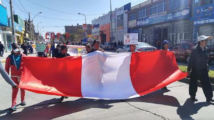 Huancayo: realizan marcha exigiendo cadena perpetua para asesino de niña
