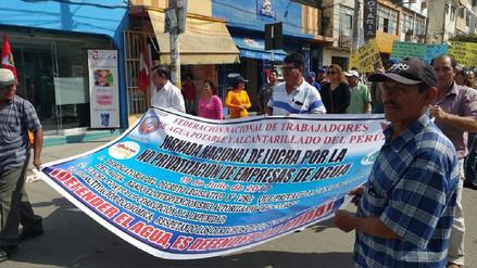 Trabajadores de Epsel desconocen a autoridades de OTASS