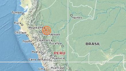 Un sismo de 4.3 grados remeció Moyobamba esta madrugada
