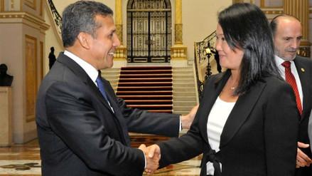 ¿Keiko Fujimori se reunió con Ollanta Humala en la Diroes?