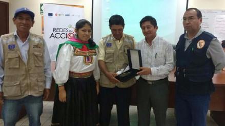 Reconocen a comunidades altoandinas en Gestión de Riesgo de Desastres